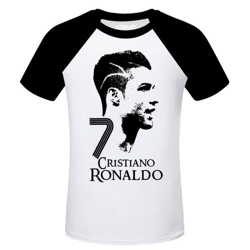 World Soccer Star Cristiano Ronaldo CR7 Men's T-shirt
