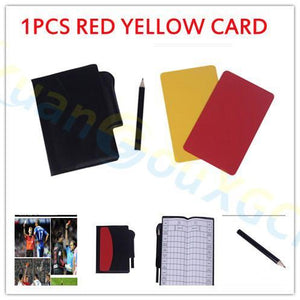 Referee Match Kit - Comes with Coin Toss, Whistle and Notebook