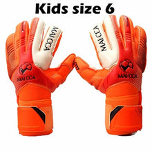 Load image into Gallery viewer, Professional Soccer Goalkeeper Glvoes Latex Finger Protection Fingerstall School Children kids Football Goalie Gloves