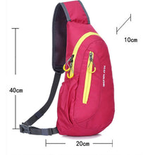Load image into Gallery viewer, Brand New Unisex Waterproof Nylon Chest Bag