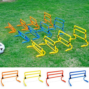 Lightweight Soccer Hurdle Training Equipment
