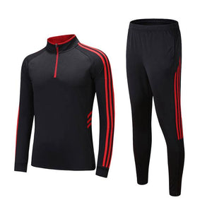 Winter Soccer Running Tracksuit Long Sleeve - Breathable and Quick Drying