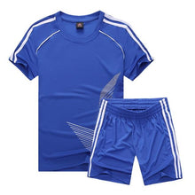 Load image into Gallery viewer, Soccer Jersey Sports Costumes for Kids Clothes Football Kits for Girls Summer Children's Suits Boys Clothing Boys Sets Uniforms.