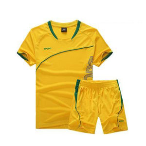 Soccer Jersey Sports Costumes for Kids Clothes Football Kits for Girls Summer Children's Suits Boys Clothing Boys Sets Uniforms.
