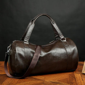 PREMIUM Leather Men's Soccer/Sports Bag - FREE SHIPPING!