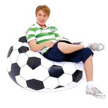 Load image into Gallery viewer, Inflatable Soccer Ball Sofa Bag For Indoor or Outdoor - FREE SHIPPING