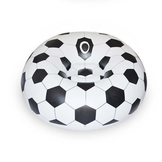 Inflatable Soccer Ball Sofa Bag For Indoor or Outdoor - FREE SHIPPING