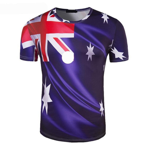 Premium Quality Australian World Cup Soccer Men's T-Shirt - The Fans Will Love This!