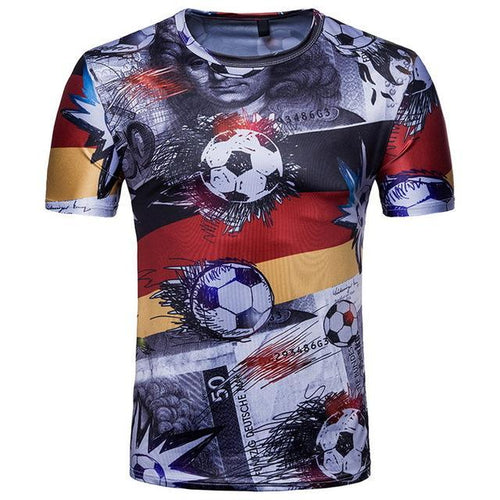 Premium Quality Stylish Soccer T-shirts