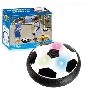 Kids Air Power Hover Soccer Disc For Playing Indoor - Watch The Video!