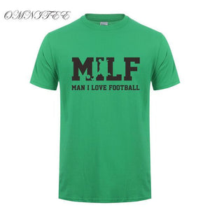 Fashionable MILF Cotton T Shirt Men Short Sleeve
