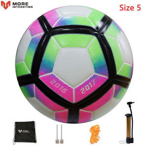 Quality Seamless Soccer Ball With FREE Pump Gift
