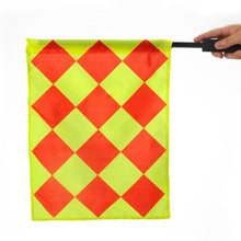 Load image into Gallery viewer, 2 x Pcs Quality Football Soccer Referee Linesman Flags