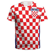 Load image into Gallery viewer, Latest Stylish Football Shirts - Germany, France, Russia, England, Croatia, Portugal, Egypt, Belgium