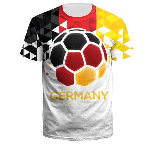 Latest Stylish Football Shirts - Germany, France, Russia, England, Croatia, Portugal, Egypt, Belgium