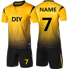 Load image into Gallery viewer, 2018 New Kids or Adult Soccer Kit with Shirt and Shorts - Print Your Name On Back FREE!