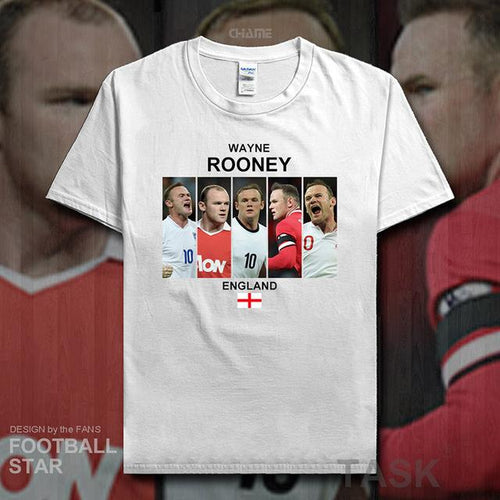 Wayne Rooney T Shirt England Career Photos - FREE SHIPPING!