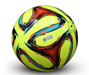 Genuine Seamless Professional Leather Soccer Ball Standard Size 5
