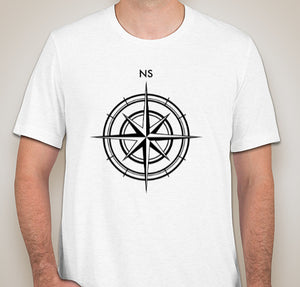 Nautical Compass Short-Sleeve T-Shirt