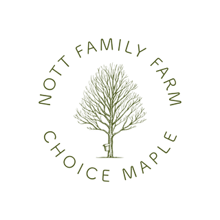 Nott Family Farm, Choice Maple Logo