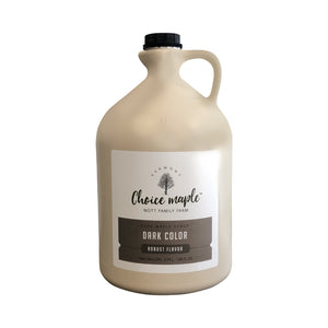 Pure Vermont Maple Syrup, 4 One Gallon Case