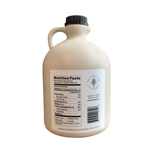 Pure Vermont Maple Syrup Half Gallon Jug