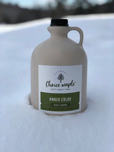 Vermont Maple Syrup Amber Rich Grade A