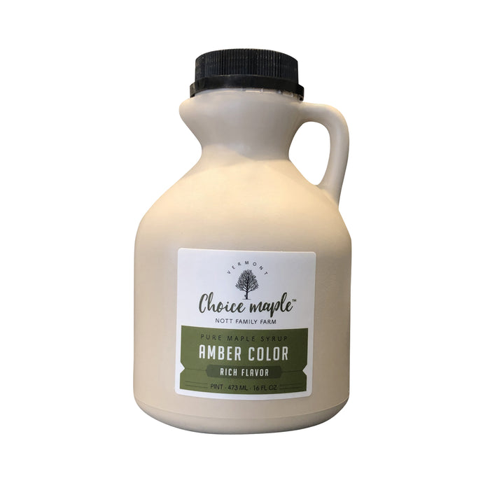 Pure Vermont Maple Syrup Pint Jug