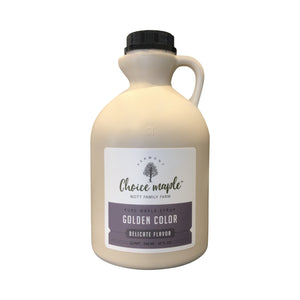 Pure Vermont Maple Syrup, 4 Quart Case
