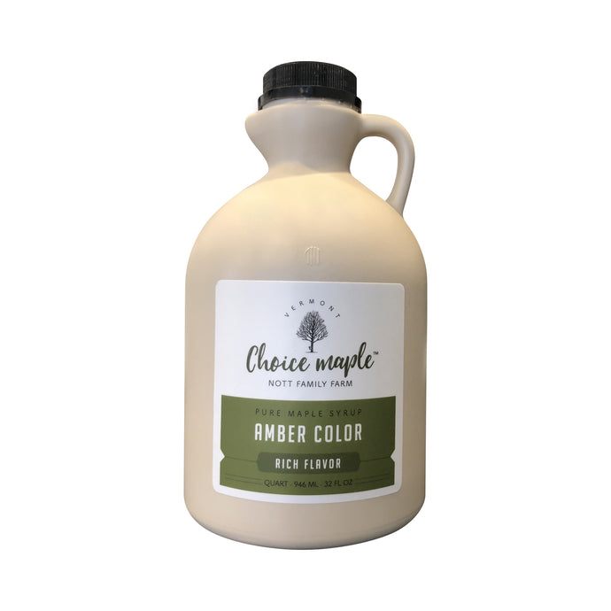 Pure Vermont Maple Syrup Quart Jug
