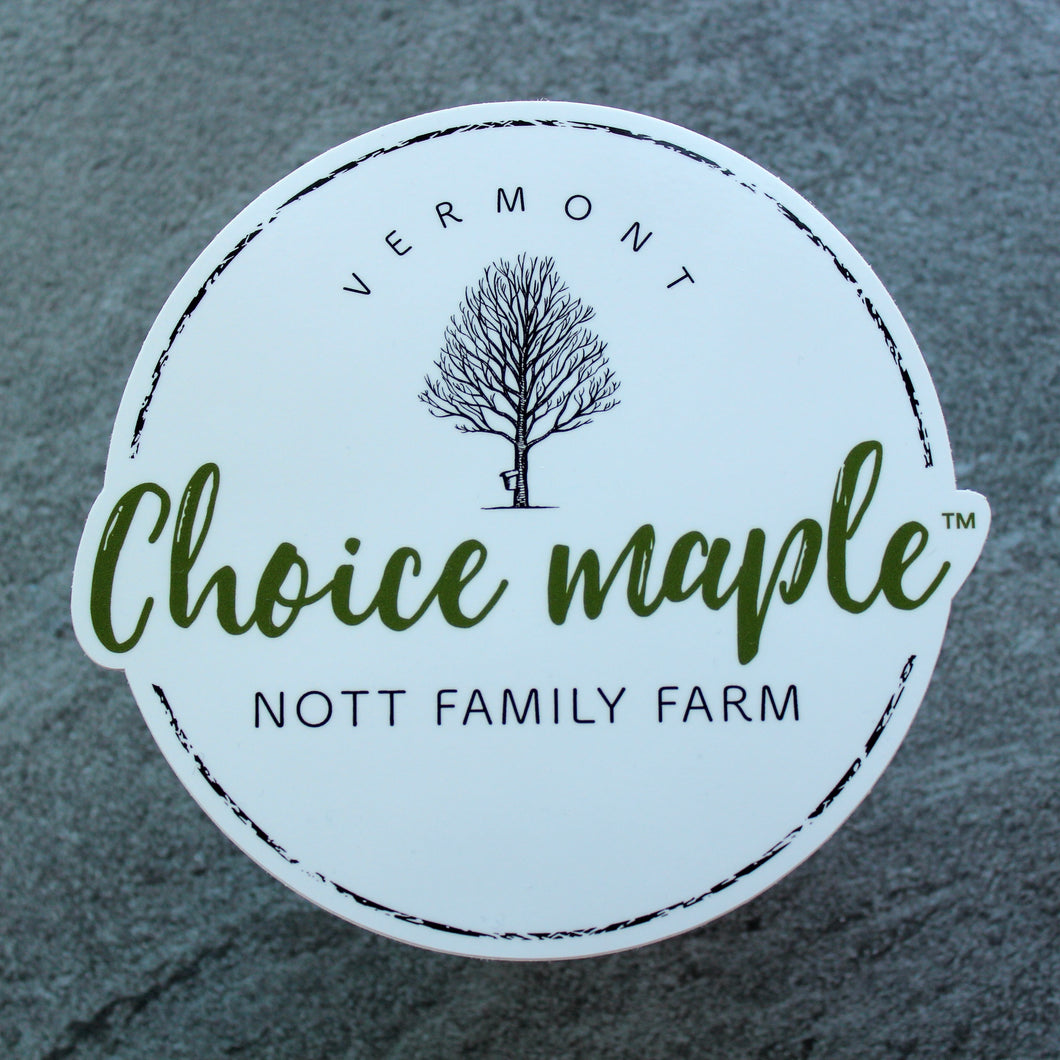 Choice Maple Sticker