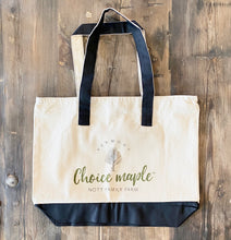Load image into Gallery viewer, Choice Maple Reusable Tote