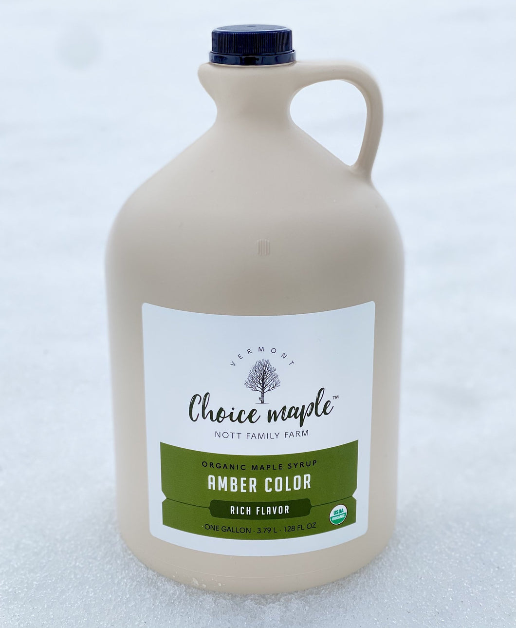 Organic Maple Syrup, 2 One Gallon Case