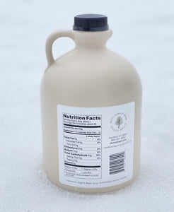 Organic Maple Syrup, 2 One Half Gallon Case