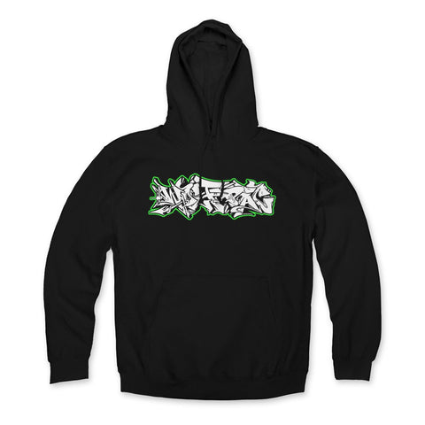 "Wolfpac ""Green Glow"" Hoodie Front Print Only"