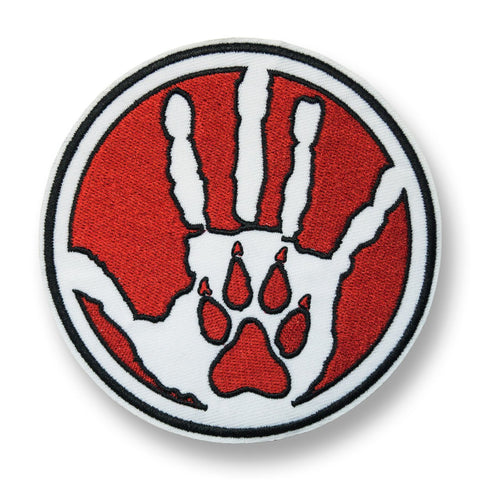 "Wolfpac ""Hand and Paw"" Patch"