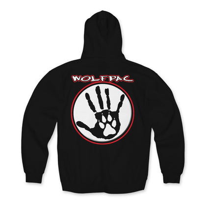 "Wolfpac ""Red Glow"" Hoodie Back Print Only"