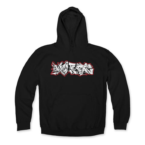 "Wolfpac ""Red Glow"" Hoodie Front Print Only"