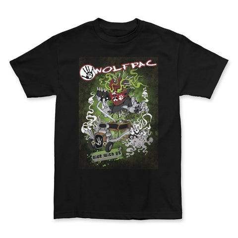 "Wolfpac ""Ride With Us"" Shirt"