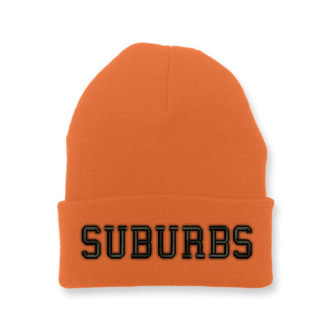 "Wolfpac ""Suburbs"" Orange Beanie"