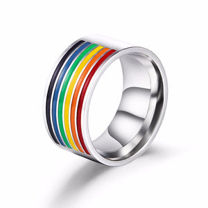 Rainbow Accent Ring