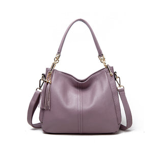 Amethyst M7217 Leather Single-shoulder bag / Handbag - Multiple colors