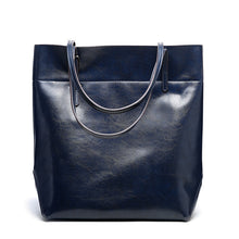 Load image into Gallery viewer, Amethyst AA547 Luxury Comfortable And Generous Leather Tote - Multiple colors