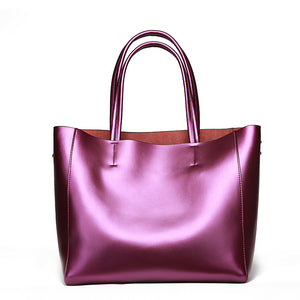 Amethyst AA602 Leather Single-shoulder bag / Tote - Multiple colors