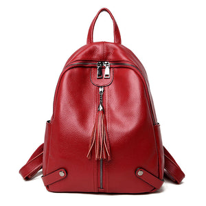 Amethyst M9923 Leather Backpack - Multiple colors