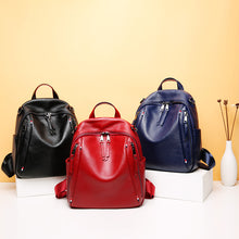 Load image into Gallery viewer, Amethyst AA977 Leather Single-Shoulder bag/Backpack-Multiple colors