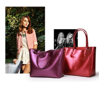 Load image into Gallery viewer, Amethyst AA602 Leather Single-shoulder bag / Tote - Multiple colors