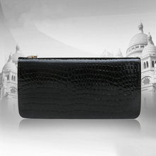 Load image into Gallery viewer, Amethyst M038 Peacock Luxury Crystal Leather Purse - Multiple colors