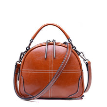 Load image into Gallery viewer, Amethyst AB041 Leather Single-shoulder bag(two straps)/Tote-Multiple colors