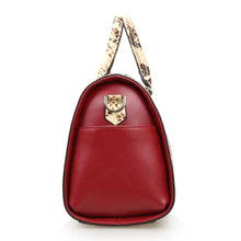 Load image into Gallery viewer, Amethyst AA97 Luxury Snakeskin grain Leather Single-shoulder bag / Tote - Multiple colors